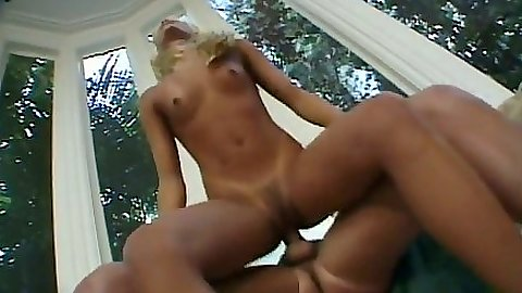 Reverse cowgirl fuck with small tits natural Shay Sweet