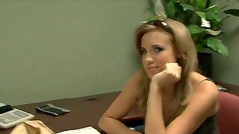 Tiffany Rox in the office and sex on bed