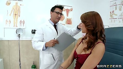 Doctor visit with busty Monique Alexander