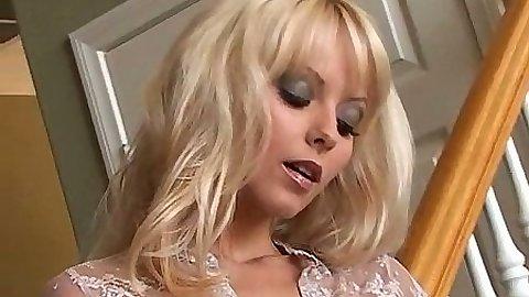 Glamcore solo masturbation from Jana Cova