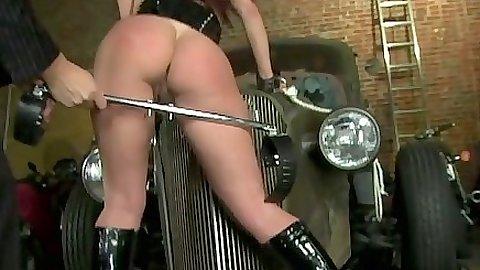 Maledome milf Tiffany Mynx gets bondage and fetish