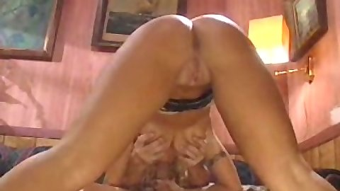 Big tits Britney Skye blowjob and sitting on face