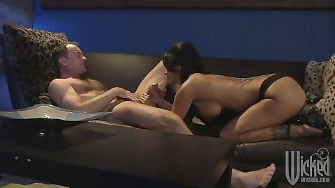 Blowjob with Mikayla Mendez and cowgirl fuck