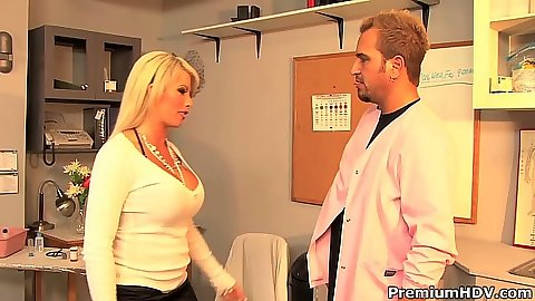 Brooke Haven milf approaches guy to suck in office