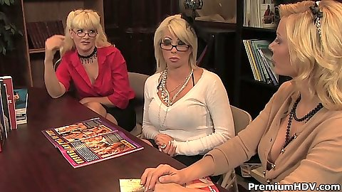 Library milf sessions with horny Heidi Mayne