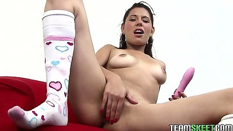 Fingering self with spread legs Cici Amor