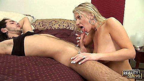 Big natural tits Xana Star blowjob and fuck fron front