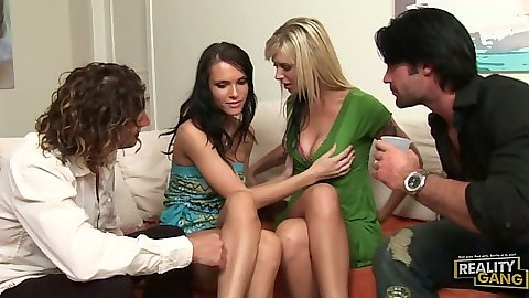 Group of milf slut Brooke Banner and Jennifer Dark