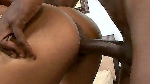 Sexy ebony ass doggy fuck from Jordin Sky