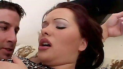 Hardcore anal reverse cowgirl with Katja Kassin