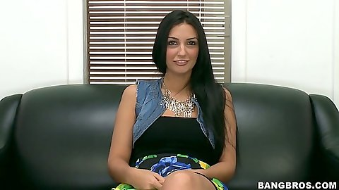 Amateur Amber Cox on her audition inerview