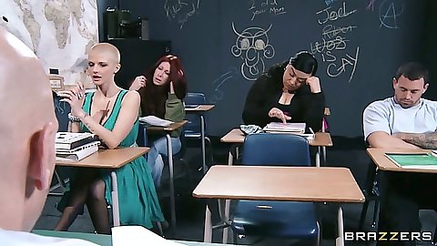 Joslyn James taking a class and fucking teacher