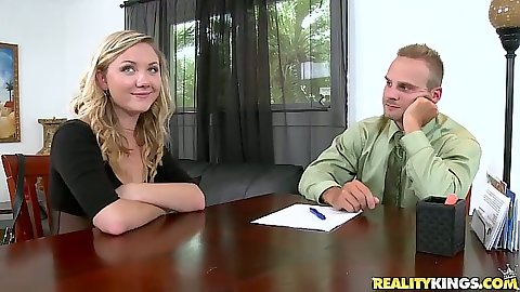 First sex video with girl in interivew