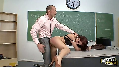 Aleska Nicole gets fucked by giving her teacher the lesson of his life