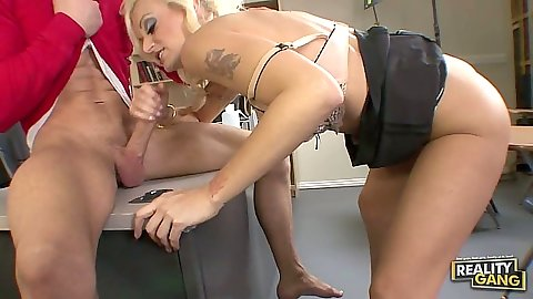 Blowjob in classroom with teacher fucking student Monica Mayhem sex