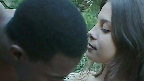 Chantay enjoys a great interracial pussy licking and blowjob