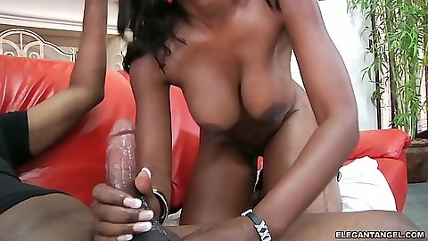 Bg dick blowjob and deep throat with big ass ebony Naomi Banxxx