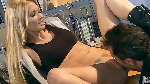 Pussy licking jessica drake and blowjob