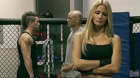 jessica drake at the free fights fucking dude