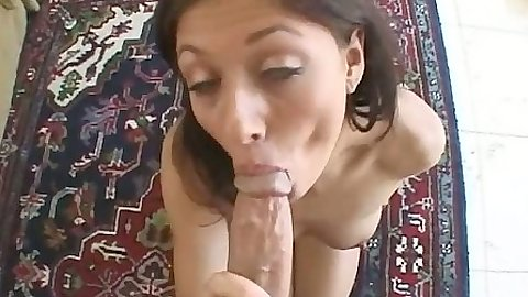 Pov big dick blowjob with small girl sex