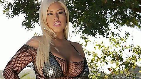 BIg tits latina Bridgette B. in sex fishnet outfit