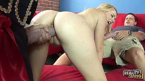 Lexi Belle is whore enough to take huge dick in to pussy