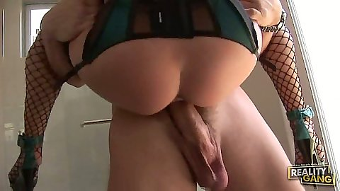 Rachel Roxxx in the air fuck with nice ass