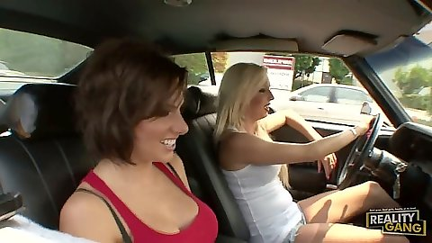 Juelz Ventura and Eden Adams cruising for a victim