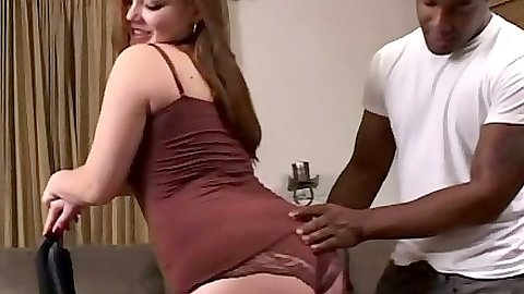 Big ass chubby latina goes for black dick