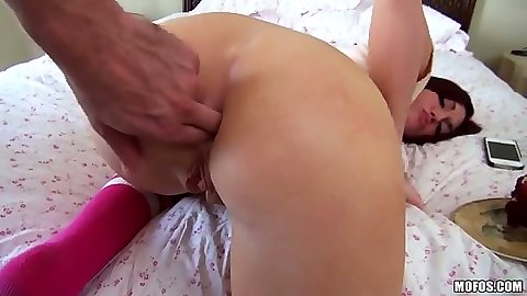 Ass fingering pov first time anal entry for Alana Rains