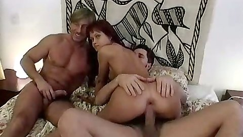 Cowgirl ass spreading fuck with gaped anus for euro Mercedes and dp to follow
