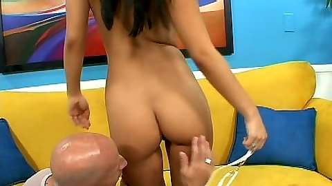 Touching and playing with asian ass Asa Akira