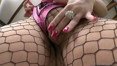 Fishnet lingerie Angel Wicky