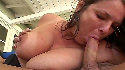 Big tits milf blowjob and sex pussy fuck