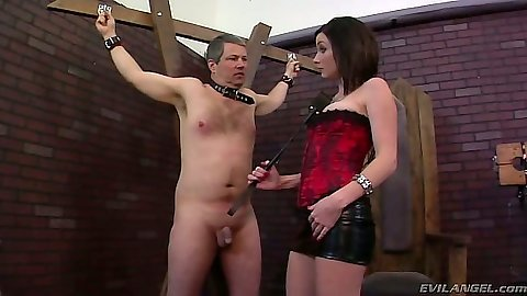 Femdom fetish with bondage from Veruca James