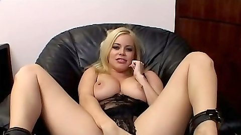 Masturbation and anal dildo play