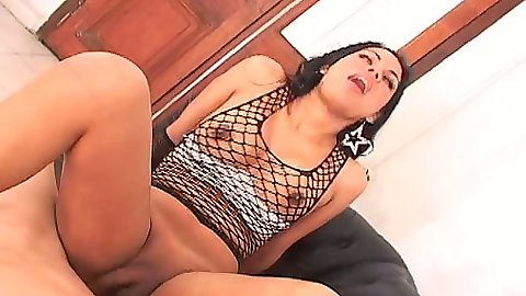 Tranny Angy C on dick riding