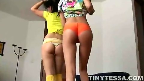 Nice ass 18 year old teens with tiny Tessa