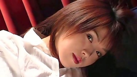 Asian naughty office sex and blowjob all clothed