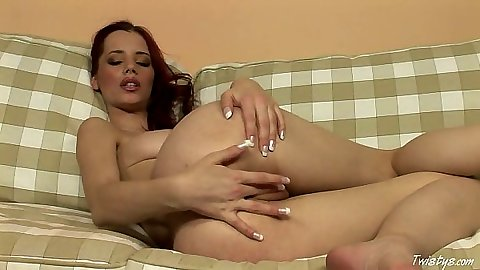 Pussy spreading with euro sex towns from glamour babe