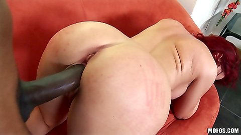 Interracial milf fuck for redhead whore Sarah Blake