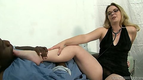 Interracial feet licking fully clothed Tera Knightly