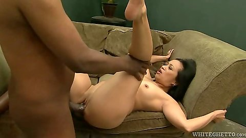 Petite asian interracial pussy sex with Lucky Starr