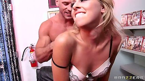 Small tits bras and panties standing fuck with squirting Zoey Monroe