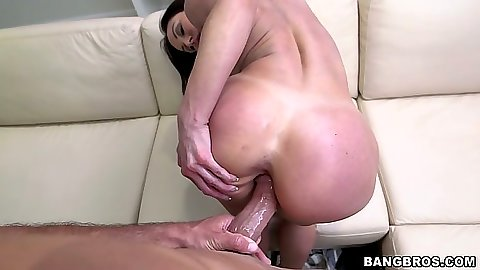 Kendra Lust pov ass spreading and self anal fingering from round ass chick