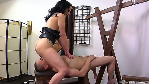 Face sitting and fem dom Katie St. Ives