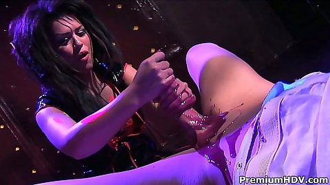Eva Angelina handjob and cowgirl sex all psycho