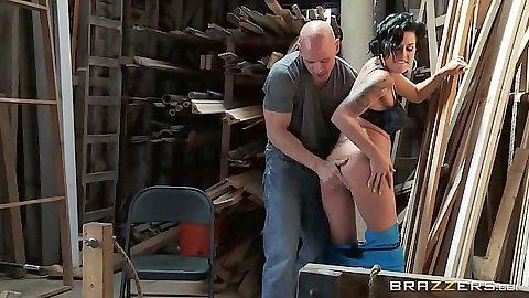 Fingering and pussy licking latina Eva Angelina