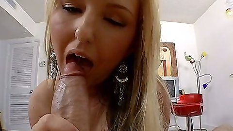 Big dick blowjob with young girl Kendra Devons and tiny tits cowgirl sex pov