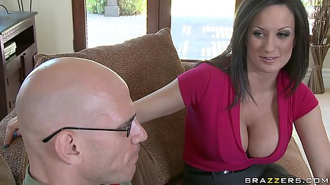 Big tits sex pro and a school all time nerd